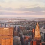 Distant horizon, New York  signed limited edition print.jpg