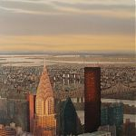 Evening light, Manhattan by Janet Kenyon