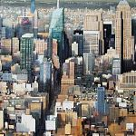 Gridlock. (Manhattan). Original Watercolour