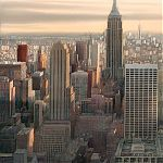 Highlight, Manhattan. Original Watercolour