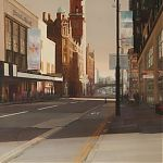 Painting by Janet Kenyon - Urban Oasis, Manchester