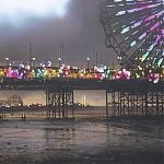 Painting by Janet Kenyon - Central Pier, Blackpool