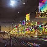 Painting by Janet Kenyon - Illuminations Blackpool