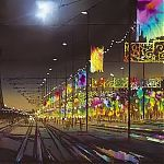 Painting by Janet Kenyon - Illuminations Blackpool