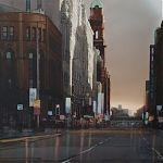 Peter Street, Manchester. Original Watercolour.