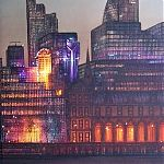 Citylight - painting by Janet Kenyon
