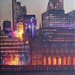 Citylight - painting by Janet Kenyon