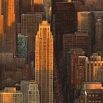 Manhattan - painting by Janet Kenyon