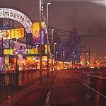 The Roller Coaster, Blackpool. painting by Janet Kenyon