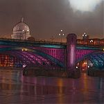 Southwark Bridge, London. Signed Limited Edition Gilclee print