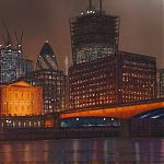 Nightlight, London. Signed Limited Edition Gilclee print.