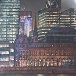 The City. Original Watercolour by Janet Kenyon